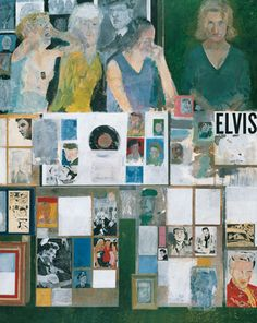 Peter Blake, Girls with Their Hero, 1959-62, Oil on hardboard, Pallant House Gallery, Wilson Gift through The Art Fund|© the artist/ DACS 2012