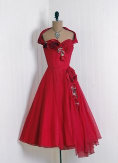 Dress 1950s - Timeless Vixen Vintage