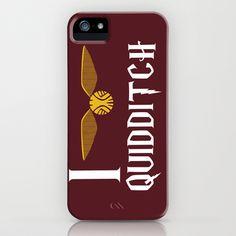 I love Quidditch iPhone Case by Danielle Furman - $35.00