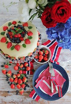Today is the National Day of Norway! This is celebrated each year with parades, national costumes and festivities. We wish all our friends in Norway a wonderful day! Photo credit to: Norway National Day, Constitution Day, Norwegian Food, Style And Grace, Nordic Style, Photo Credit, Special Occasion, Celebration, Decorations