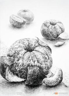 Pencil Drawings, Art Drawings, Natural Form Art, Still Life Fruit, Crayon, Pet Portraits, Pattern Design, Art Designs, Sketch