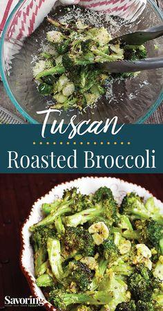 Tuscan Roasted Broccoli