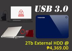 Best And Affordable 2TB External Hard Drive – Toshiba Canvio Advance