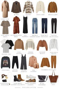 Fall Capsule Wardrobe, Capsule Outfits, Fashion Capsule, Fall Outfits, Fashion Outfits, Wardrobe Basics, New Wardrobe, Winter Wardrobe, Fashion Pants