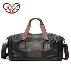 0240f09db41d The new large-capacity portable travel bag men and women casual shoulder  business travel package high-quality PU leather