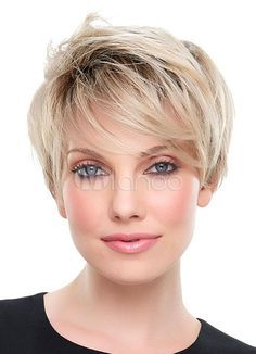 Blonde Short Wigs 2018 Straight Full Synthetic Wigs For Wome.- Blonde Short Wigs 2018 Straight Full Synthetic Wigs For Women … Blonde Short Wigs 2018 Straight Full Synthetic Wigs For Women - Short Hairstyles For Women, Wig Hairstyles, Straight Hairstyles, Funny Hairstyles, Natural Hairstyles, Party Hairstyles, Short Hair Wigs, Short Hair Styles, Curly Hair