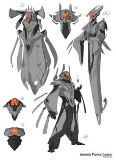 Halo 4 Promethean Concept Art