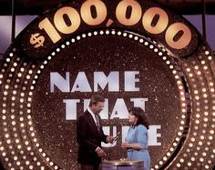 """I loved to watch """"Name That Tune"""" when I was a child."""