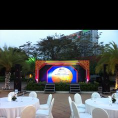Backdrop for New Holland Agriculture India Dealer Conference at Dusit Thani Hotel Pattaya on 15 March 2011