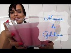 MOUSSE DE GELATINA   Luciana de Queiróz