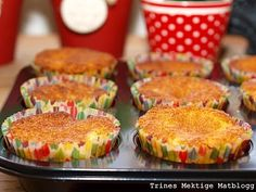 Eplemuffins   TRINEs MATblogg Muffin, Cupcakes, Sweets, Baking, Breakfast, Food, Tips, Morning Coffee, Cupcake Cakes