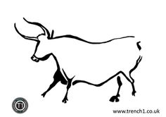Trench1CavePainting.jpg- download cave art coloring sheets