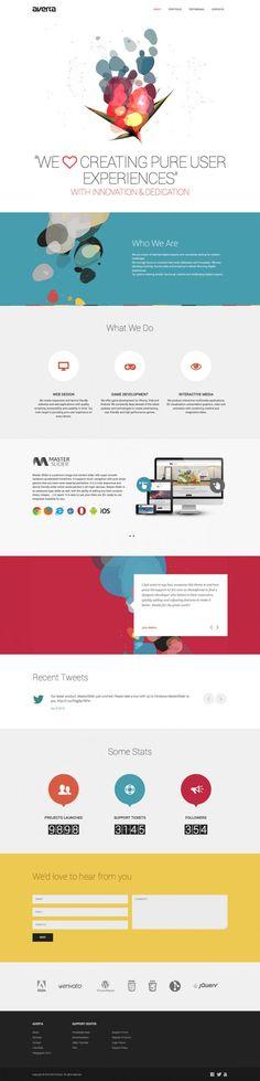 web design inspiration - Google Search