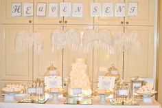Heaven Sent Themed Baby Shower.