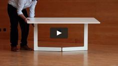 Video showing the functionality of the foldable table OLA exhibited at the Green House, Stockholm International Furniture Fair 2010.