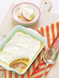 Lemon-Graham Icebox Cake recipe (no-bake dessert!)