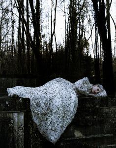 moldavia:    Marie Piovesan in Vogue Italia March 2012  by Deborah Turbeville. Kinda creepy