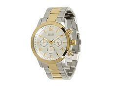 Guess U0123G2 Silver Gold Women's Watch | On Sale http://www.thesterlingsilver.com/product/citizen-womens-ew1670-59d-silhouette-sport-eco-drive-watch/