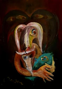 Politics - Contemporary Art Painting - Florin Coman