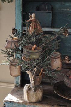 Prim Christmas Tree...