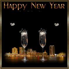 Happy New Year 2014 Gif scintillant Free Bonne Année 2014 Champagne Happy New Year Love, Happy New Year Pictures, Happy New Year Quotes, Happy New Year Greetings, Happy Wishes, Quotes About New Year, New Year Wishes, Happy Year, New Year Card