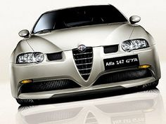 Busso powered Alfa Romeo 147 GTA. Permanent grin comes as a standard extra.