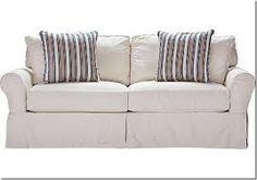 Cindy Crawford Home Beachside Natural Denim Sofa Denim sofa Sofa
