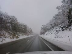 Winter Roads, Clarion County. Photo of the Day, Dec. 29, 2010. By Paul Recklein.