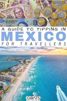Are you planning to travel to Mexico? We've got the tipping guide for you. Whether you are staying in an all inclusive accommodation, a boutique hotel and more, we'll help you decide how much to tip at restaurants, bars, hotels and more. | #mexico #tipping #travelguide