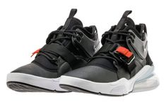 Release Date: Nike Air Force 270 Black Metallic Silver • KicksOnFire.com