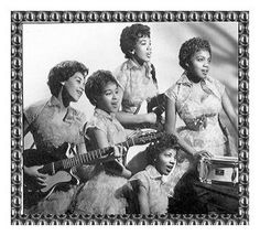 The Chantels: Another influential 50's Girl Group.