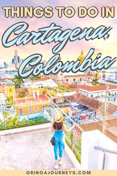 If you're planning to visit Cartagena, read this article for the exact locations of the best photo spots. I've even included a map at the end of this post! South America Map, South America Destinations, Colombia South America, Central America, Travel Destinations, Latin America, Visit Colombia, Colombia Travel, Backpacking South America