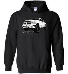 4TH Gen Dodge Ram 6.7l Diesel Truck Hoodie Sweatshirt