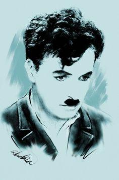 Charlie Chaplin by shahin