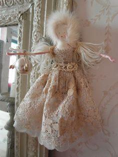 Pavlova -  handmade fairy