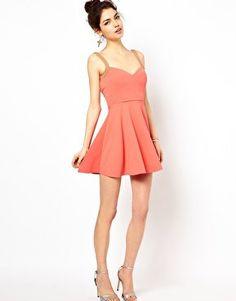 #asos                     #love                     #Love #Sweetheart #Neckline #Skater #Dress #asos.com                          Oh My Love Sweetheart Neckline Skater Dress at asos.com                                                 http://www.seapai.com/product.aspx?PID=1312824