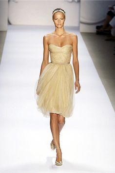 Wedding fashion trend: Short dresses - Chicago Wedding | Examiner.com