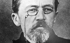 """Anton Chekhov """"The gentleman with the little round beard sat down beside me and continued: 'Yes, when Russians come together they discuss nothing but abstract subjects and women.'"""" — Anton Chekhov, """"Ariadne"""""""