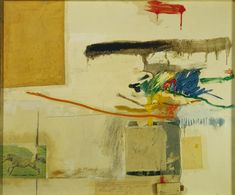 Robert Rauschenberg. Untitled (formerly titled Collage with Horse),1957.