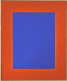 """""""Licht um Licht (blau)"""", walter storms galerie Ulrich Erben"""