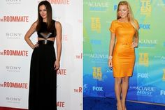Leighton can rock the black dress & Blake is looking good in the orange dress.. :)