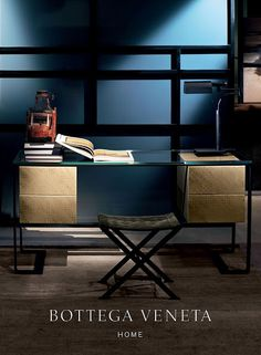Bottega Veneta Home Collection - amazingly masculine and luxurious