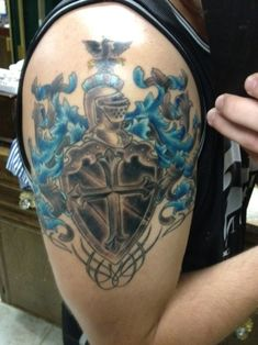 family crest – Tattoo Picture at CheckoutMyInk.com