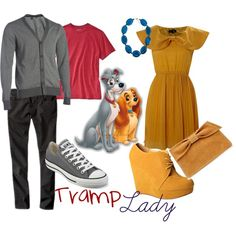 'lady and the tramp' inspired outfits for couples
