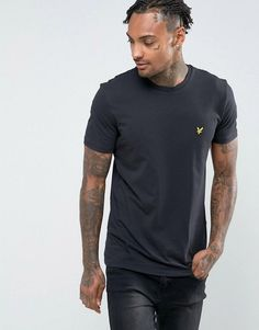 Lyle & Scott T-Shirt with Eagle Logo in Black