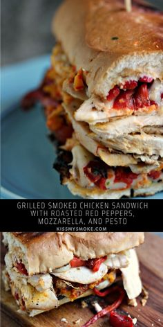 Roast Chicken Sandwich Recipes, Grilled Chicken Sandwiches, Summer Grilling Recipes, Barbecue Recipes, Summer Recipes, Delicious Dinner Recipes, Brunch Recipes, Healthy Recipes, Outdoor Cooking Recipes