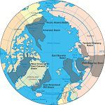 In the near future, A war is brewing over Oil reserves in the Arctic.
