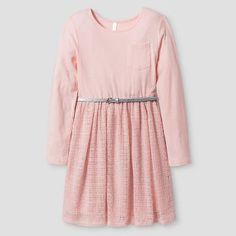 Girls' Sweater Knit Dress Xhilaration™ - Pink