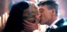 Season 3 Peaky Blinders. Tommy and Grace.