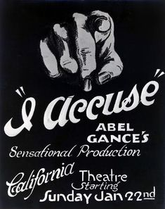 J'Accuse, (1919) - one of my top 3 favorite silent features